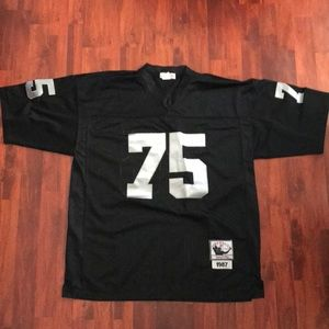 newest c6751 5736f Howie Long Throwback Jersey